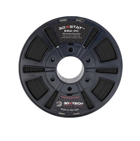 Filament 3DXTech PC-ESD Black 0,5 kg